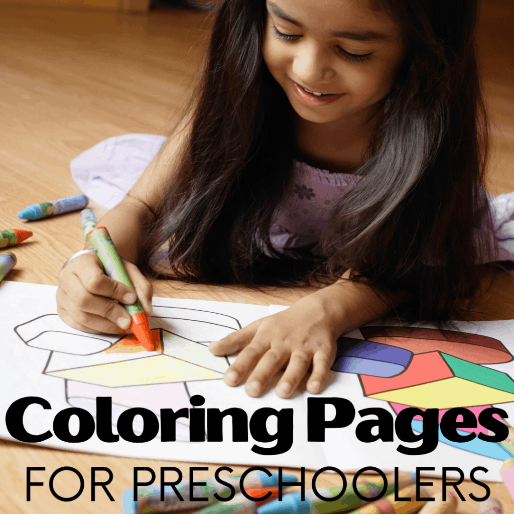 These Preschool Coloring Pages are the perfect addition to your preschool unit studies or quiet time activities. You're definitely not going to want to miss these awesome free printables!