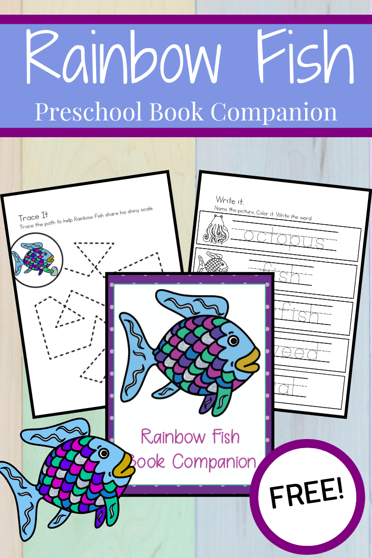 This pack of Rainbow Fish book printables will help you extend the learning after reading Marcus Pfister's classic story of sharing and friendship.