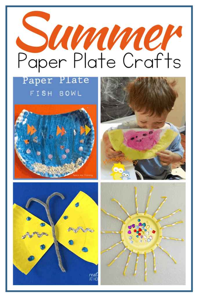 From mermaids and pirates to flowers and summer fruit, there are so many summer paper plate crafts to choose from you won't know where to start!