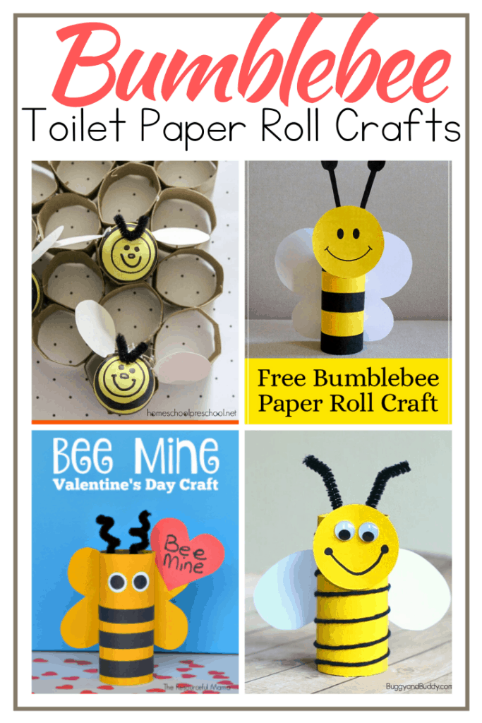 There's nothing easier than turning an old cardboard tube into an adorable craft. These toilet paper roll bees are no exception! Perfect for kids of all ages.