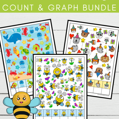 Summer Count and Graph Worksheets