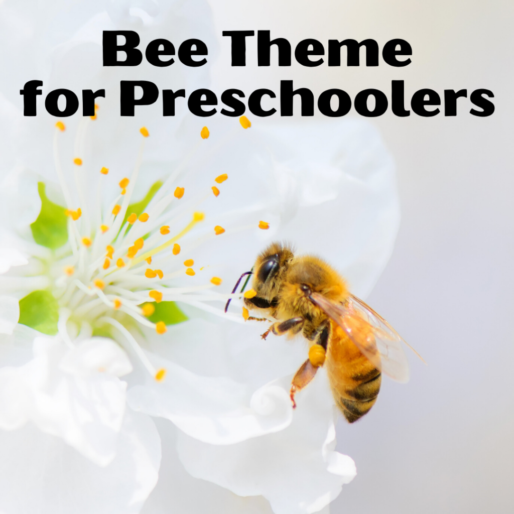 Bee activities for preschoolers! Find crafts, printables, book lists, and more. Come discover what the buzz is all about!
