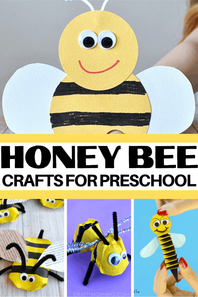 Fly on over and check out these adorable bee crafts for kids. They're perfect for spring and summer crafting sessions.
