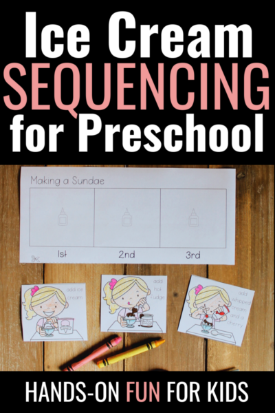 Practice ordering events with these ice cream sequencing activities. This set includes two activities and a control sheet. It's perfect for summer learning!