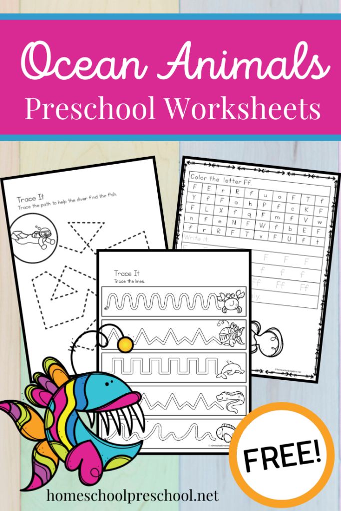 ocean-animal-worksheets
