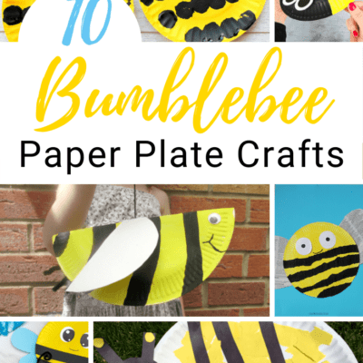 Paper Plate Bees