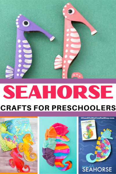 If you're planning a preschool ocean theme, be sure to include one or more of these sensational seahorse crafts for preschoolers to make!