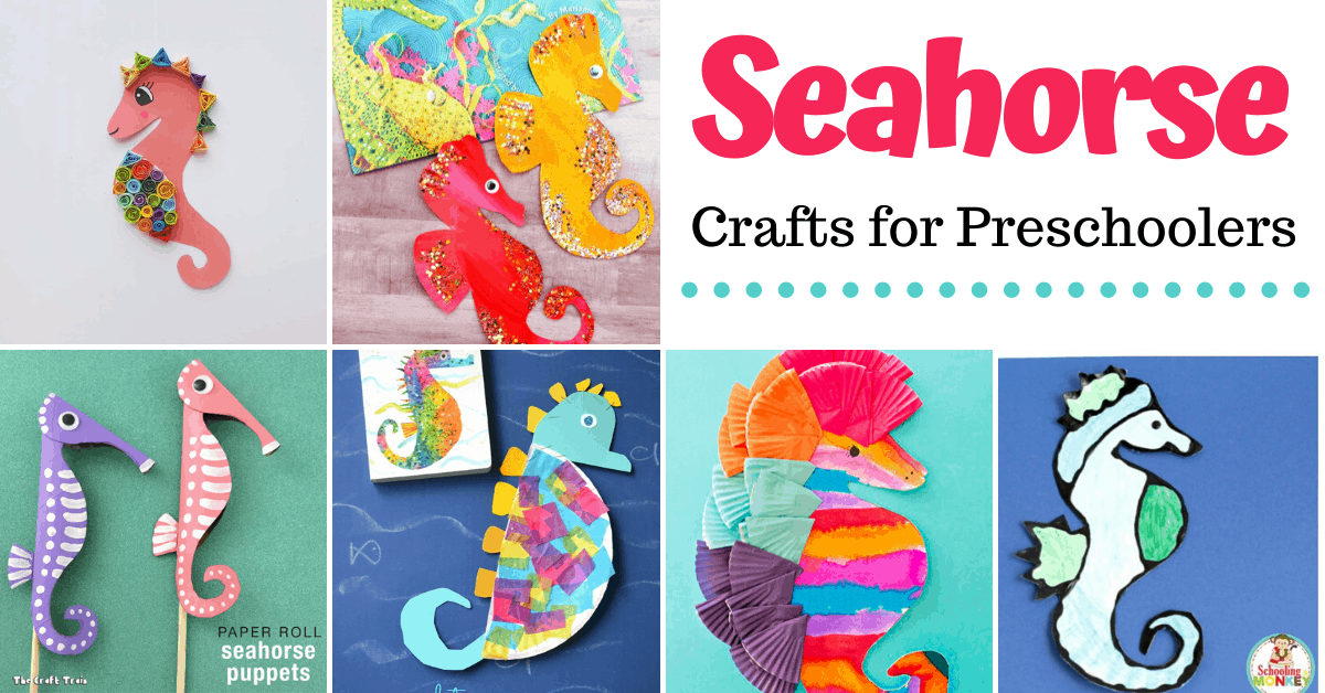 Sensational Seahorse Crafts For Preschoolers To Make