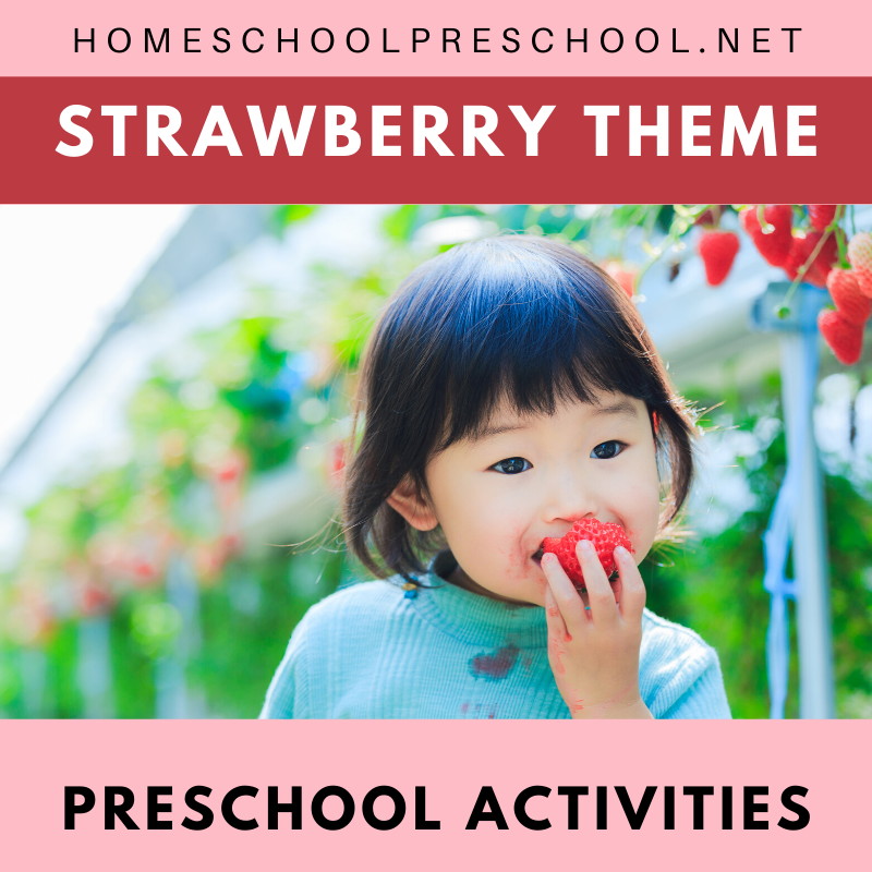 What an amazing collection of strawberry activities for preschoolers! Use them to build a fun summer unit! You'll find everything you need to get started...