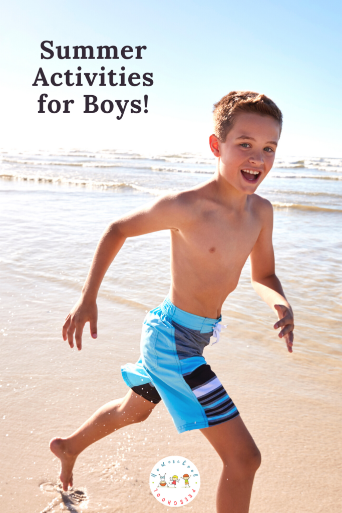The days may be long and hot, but these engaging summer activities for boys are sure to be a hit with your young and rowdy crowd!