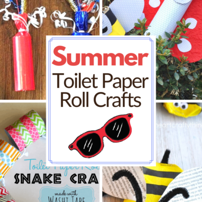 Summer Toilet Paper Roll Crafts