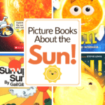 Add these books about the sun to your preschool units about the weather or seasons. You can also add them to your Letter Ss lesson plans.