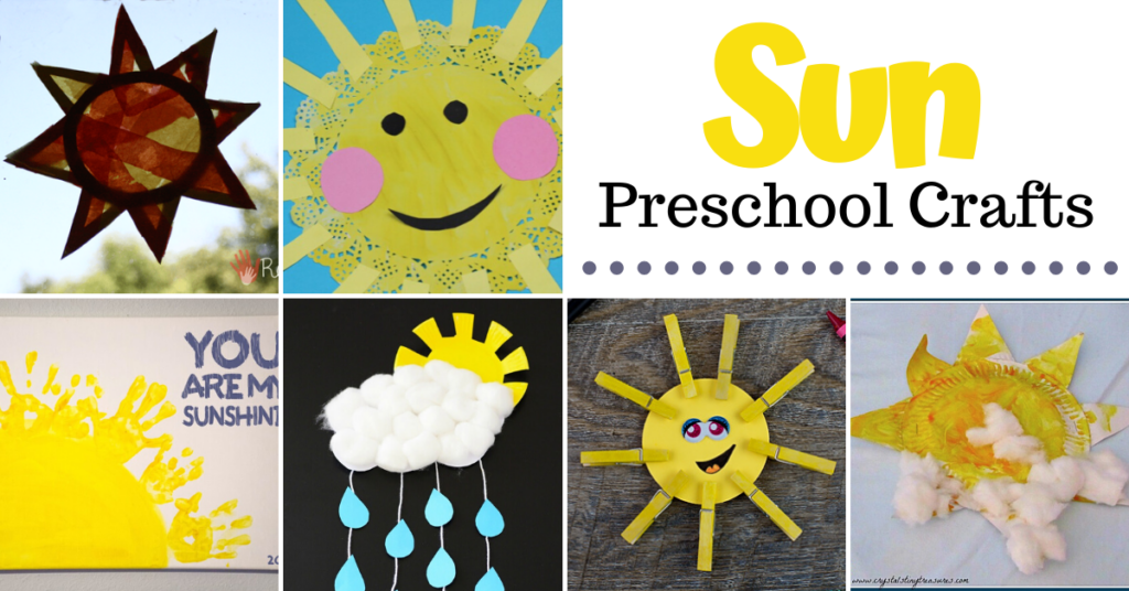 Whether you're looking for a fun summer craft or one to warm you up in the winter, these sun crafts are great for preschoolers and kindergarteners.