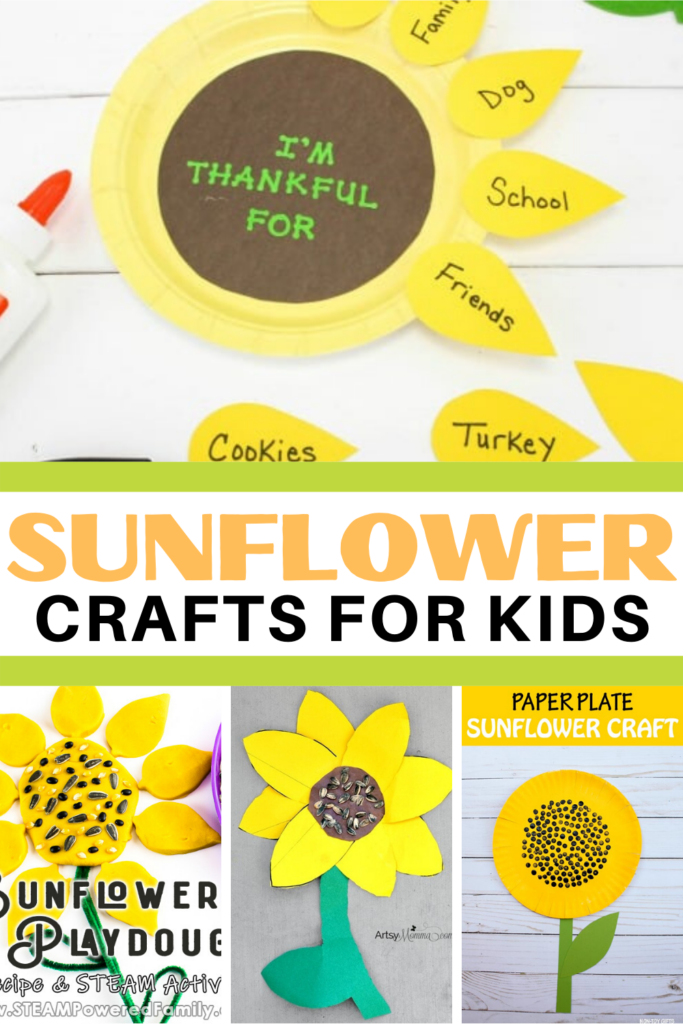 Add one or more of these preschool sunflower crafts to your summer crafting sessions. Kids will have a hard time picking a favorite.