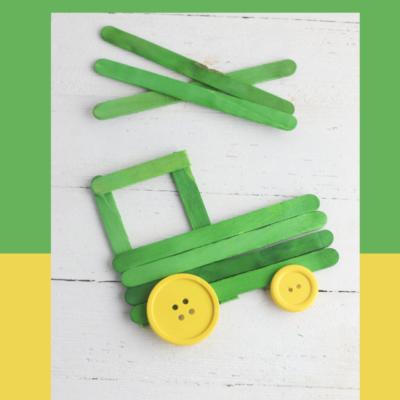 Tractor Craft for Preschool