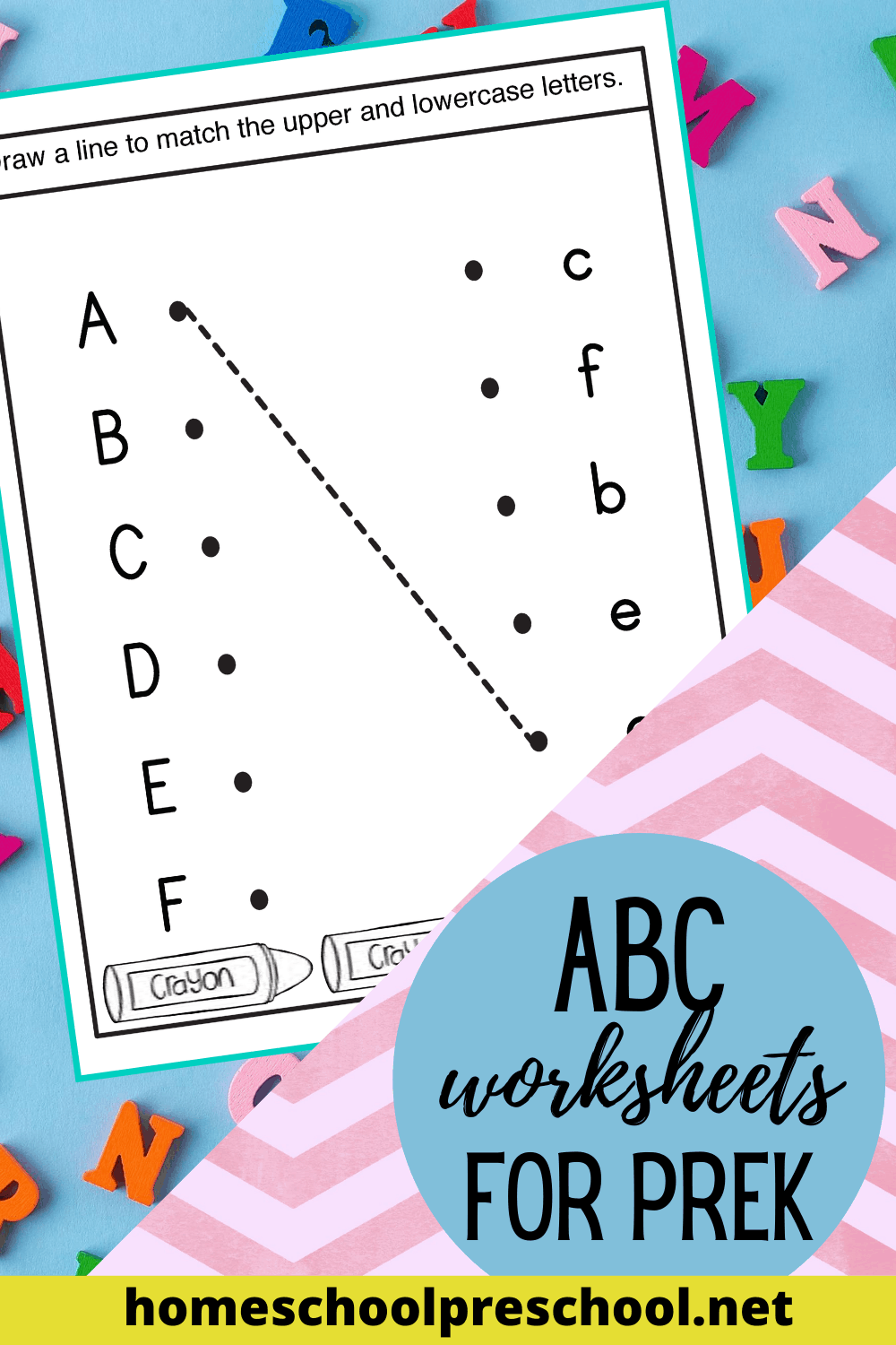 alphabet worksheet