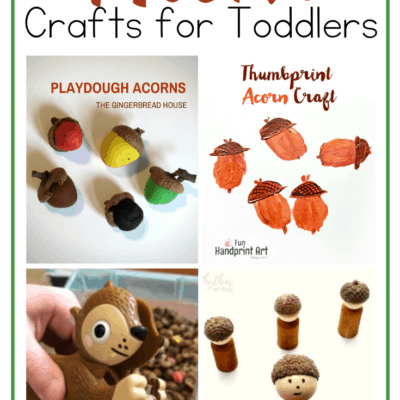 Easy Acorn Crafts for Toddlers