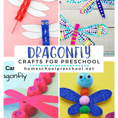 Dragonfly Crafts for Preschoolers