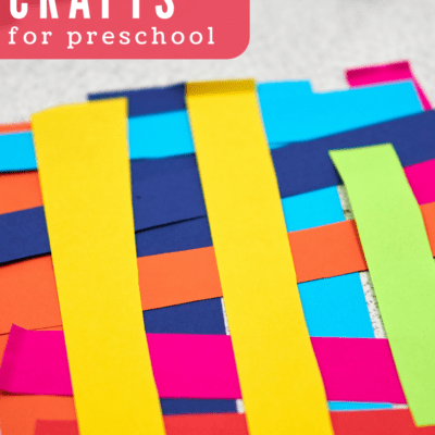 Preschool Paper Crafts