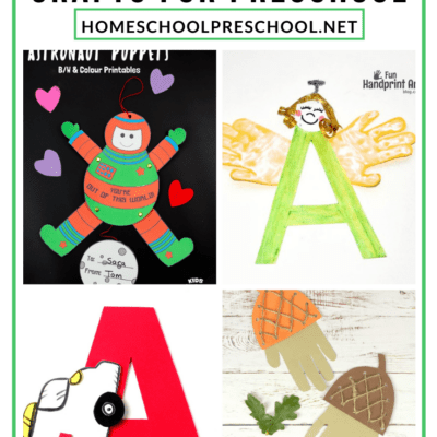 Crafts to Teach Letter A