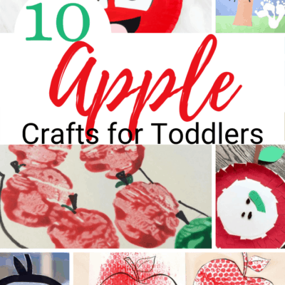 Apple Crafts for Toddlers