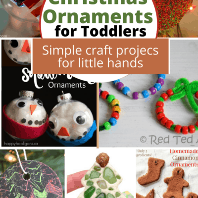 Christmas Ornament Ideas for Toddlers
