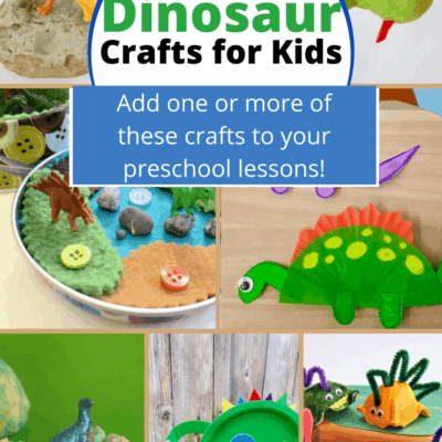 Easy Dinosaur Crafts for Preschoolers