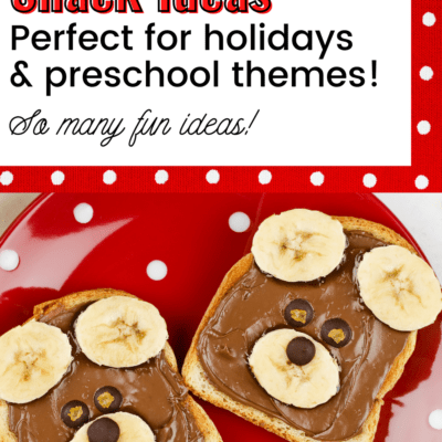 Preschool Snack Ideas