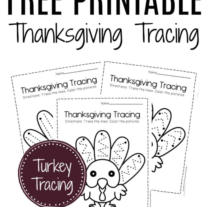 Free Printable Thanksgiving Worksheets For Preschoolers