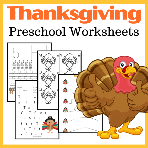 Count To Ten With Thanksgiving Counting Worksheets