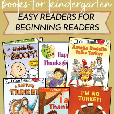 Thanksgiving Books for Kindergarten