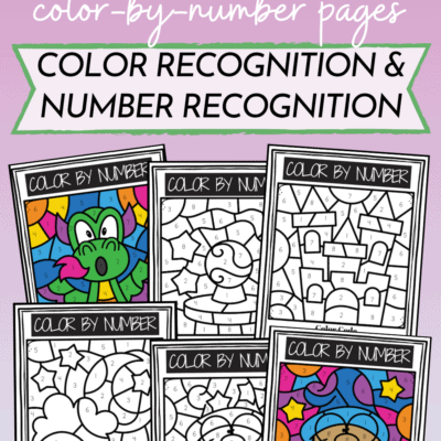 Fantasy Color By Number Printables
