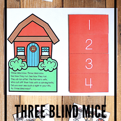Three Blind Mice Sequencing Pictures