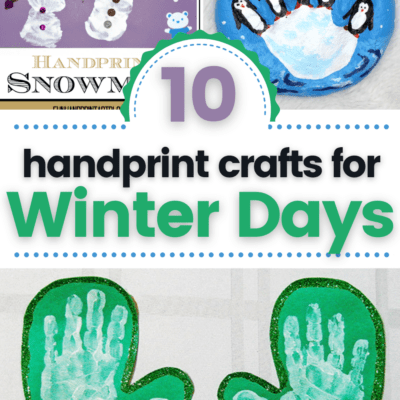 Winter Handprint Crafts