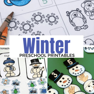 Winter Printables for Preschoolers