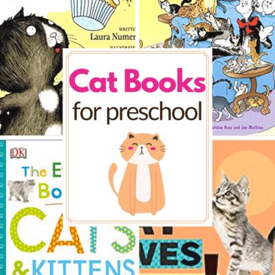 Cat Books for Preschoolers