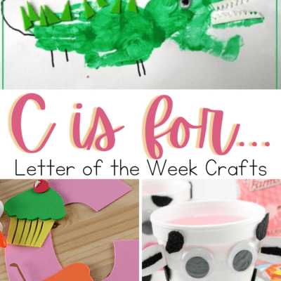 Crafts to Teach Letter C