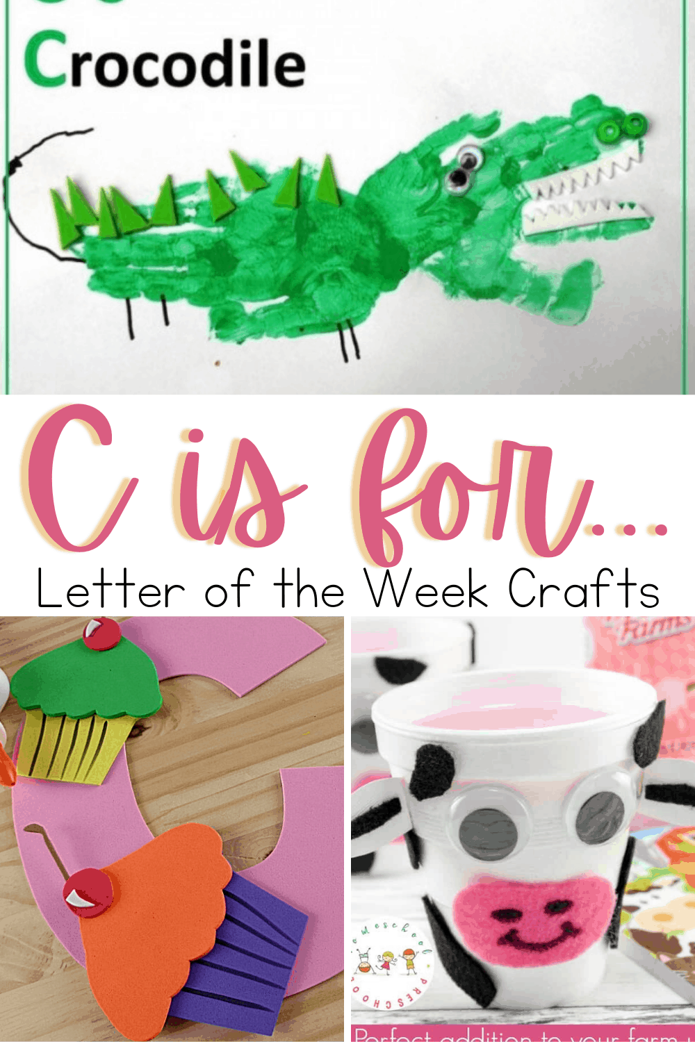 More Than 20 Preschool Crafts to Teach Letter C