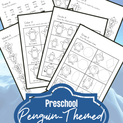 Penguin Math Worksheets