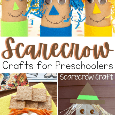 Kids Scarecrow Crafts