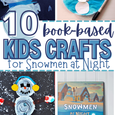 Snowmen at Night Crafts