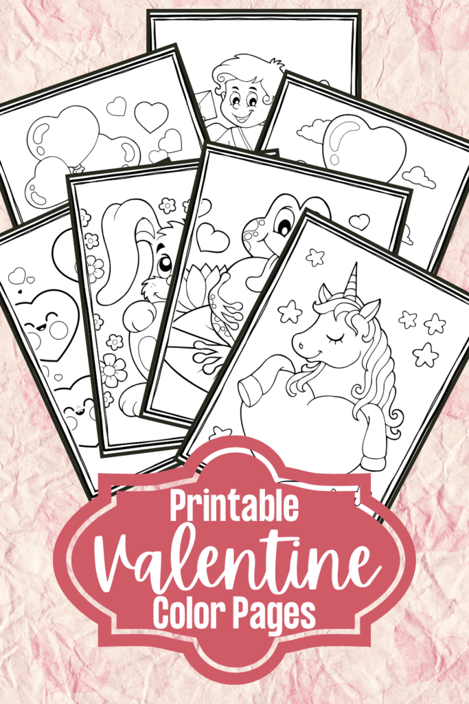 Free Printable Valentines Coloring Pages For Preschool