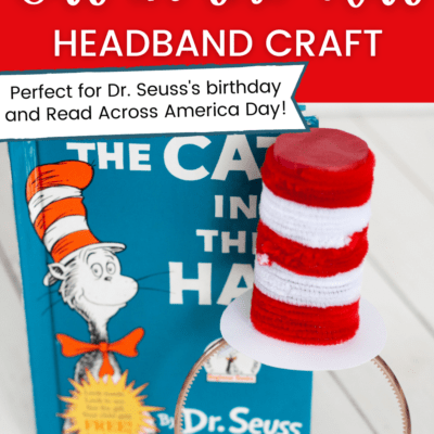 Preschool Cat in the Hat Craft