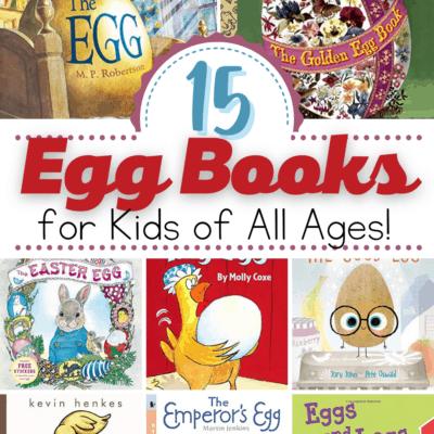 Egg Books for Preschool
