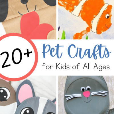Pet Crafts for Preschoolers