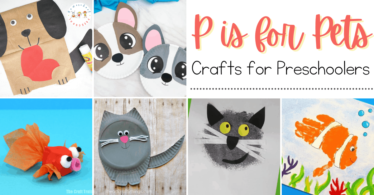 More Than 20 Pet Crafts For Preschoolers