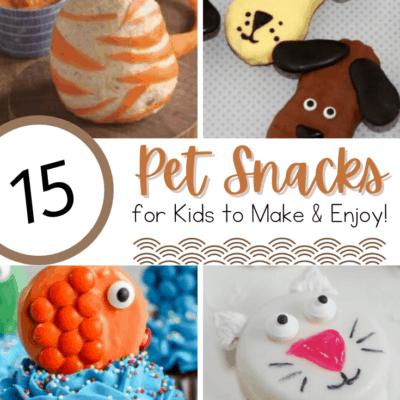 Pet Themed Snacks for Preschool