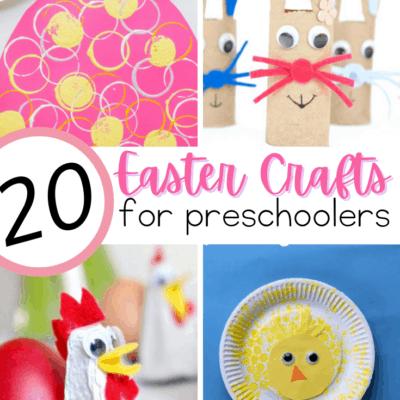Easter Crafts for Preschoolers