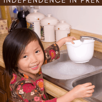 Encouraging Independence in Preschoolers