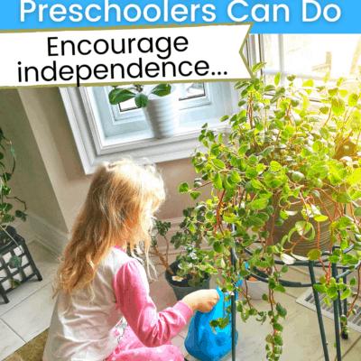 Chores Preschoolers Can Do